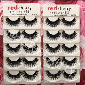 Other - Red Cherry Eyelashes 10 Pairs